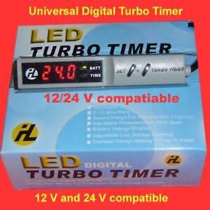 LED Digital Turbo Timer for Car Van Ute Truck AWD 12 & 24 VDC HQ