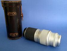 Ernst Leitz Wetzlar Leica Hektor chrome sharkskin lens 13,5mm f/4,5 – 135mm M39