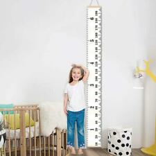 Growth Height Chart Measure Ruler Children Room Decors Wall Hanging Wooden Kids