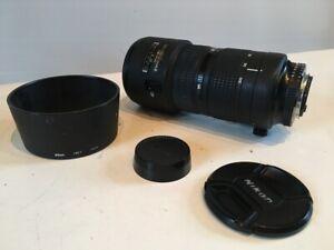 Nikon zoom AF Nikkor 80-200mm f2.8D ED Telephoto Zoom Lens