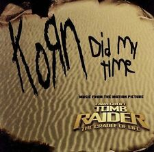 Korn - Did My Time/One [Single] (CD, Jul-2003, Epic (USA)) Fast Shipping!