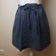 MARC JACOBS Denim Skirt Size M Short Blue Summer Casual Distressed