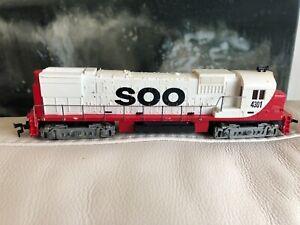 TYCO TRAIN HO SCALE MODEL ENGINE - SOO Engine 4301 Tested