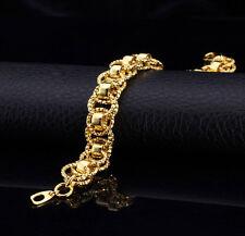 Damen  Armband 21cm 750er Gold 18 Karat vergoldet Damenarmband + Geschenkbox