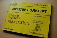 NISSAN P01(U) SERIES FORKLIFT TRUCK Spare Parts Manual book catalog list PO2U