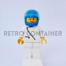 LEGO Minifigures - 1x zip008 - Pilot with Zipper - Town Omino Minifig 1896 6591