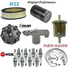Tune Up Kit Filters Cap Spark plugs For CHRYSLER NEWPORT V8; 6.6L 1977-1978