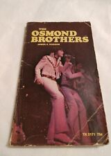 The Osmond Brothers by James A Hudson – 1972 Paperback Donny Osmond Family Guc
