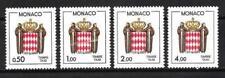 Mónaco 1986 Yvert sellos tasas n° 83 à 86 neuf 1er elección