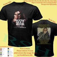 OZZY OSBOURNE TOUR 2019 Album Concert T-Shirt Adult S-5XL Youth Infants