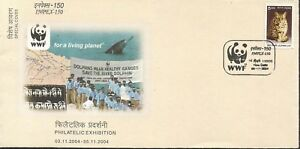 River Dolphin WWF cover Wild animals marine life mammals India special cover