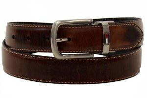 Tommy Hilfiger Men's Brown/Black Reversible Belt