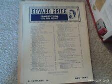 Edvard Grieg: Papillon, op 43/1,  piano (Schirmer)