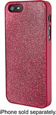 DYNEX iPhone 5/5s Cover Case New In Package Fuchsia Pink GLITTER USA
