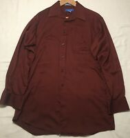 Savile Row Men's Long Sleeve Dress Shirt 15.5 32/33 Medium
