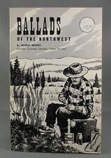 BALLADS OF THE NORTHWEST - SCARCE! - (Alaska, Klondike, Yukon) by Thomas Brooks