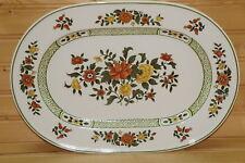 "Villeroy & Boch Summer Day Oval Serving Platter, 13 3/8"" x 9 1/8"""