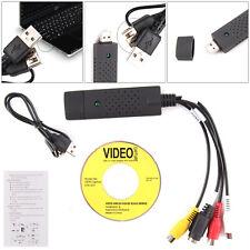 USB 2.0 VHS to DVD Converter Audio Video Adapter Capture Card UK SELLER