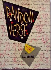 RANDOM VERSE ~ C. J. DENNIS ~ 1ST EDITION, 1952- HC/DJ