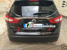 battivaligia protezione soglia carico paraurti in acciaio Nissan Qashqai 2014-17