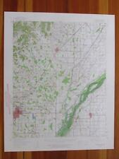 Marmaduke Arkansas 1962 Original Vintage USGS Topo Map