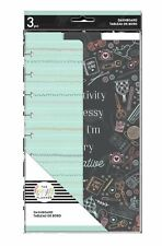 NEW RELEASE! Happy Planner MISS MAKER Classic Dashboard 3 Pack