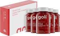 Goli ACV Apple Cider Vinegar Vegan Gummies (5 Months Supply) Free Post