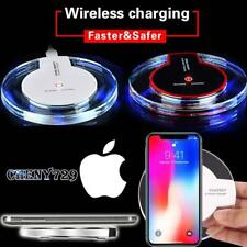 Fast Qi Wireless Charger Charging Dock Pad For Apple iphone X / iphone 8 /8 plus