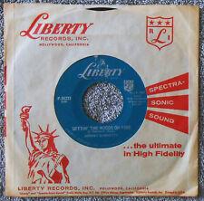 JOHNNY BURNETTE - Settin' The Woods On Fire & Kentucky Waltz, 1959 Rockabilly 45