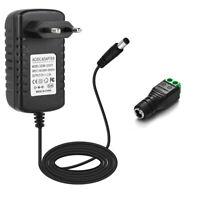 AC100-240V To DC 12V 2A Adapter Power Supply Transformers for LED Strip+ DC Plug