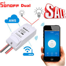 Sonoff Dual 2 Gang Wifi Smart Switch Wireless Remote Control Timer Switch APP