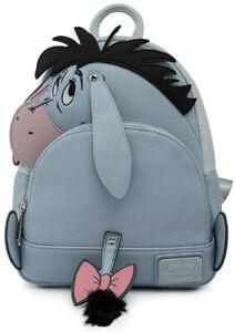 LOUNGEFLY X Disney Winnie the Pooh Eeyore Cosplay Mini Backpack SALE WDBK1716