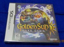 Nintendo DS - Golden Sun: Dark Dawn ~ Brand New Factory Sealed ORIGINAL Game ~