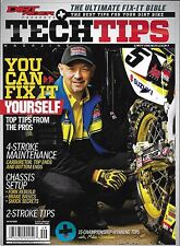 Dirt Rider Tech Tips motorcycle magazine 4 stroke Chassis Fork rebuild Brakes