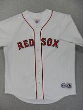 Boston Red Sox Majestic Replica Baseball Jersey (Mens Xl) White