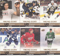 13-14 Upper Deck Alex Chiasson Young Guns UD Canvas Rookie 2013