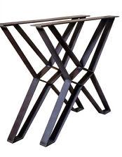 1 Paar Tischgestell 72,5 Vintage Tischkufen X Gestell Kufengestell Tischbeine