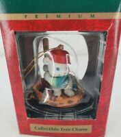 Trim a Home Collectible Tree Charm Mouse Playing Baseball Ornament