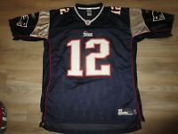 Tom Brady #12 New England Patriots Super Bowl NFL Jersey XXL 2XL mens