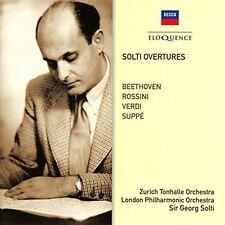 Georg Solti / London - Solti Overtures: Beethoven / Rossini / Verdi / Sup [New C
