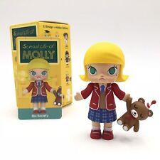 Pop Mart Kennyswork School Molly Mini Figure Designer Toy Figurine Bio Society