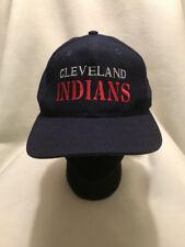 Vtg Cleveland Indians The Game Wool Blend Snapback Hat