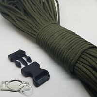 Paracord Bracelet Making Kit, With Paracord, Buckles & Metal Logo Plates
