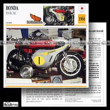 #053.10 HONDA 500 RC 181 1966 (RC181) Fiche Moto Racing Motorcycle Card