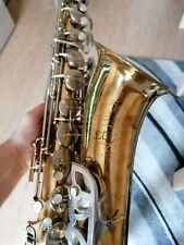 Vintage tenor saxophone made in Italy to be restored ! Great sound sax