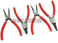 4 Piece Circlip / Snap Ring Pliers Tool Set - internal and external