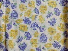 Vtg 80s Laura Ashley Sweet Pea Confetti cotton fabric  3.9m unused