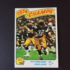 "Terry Bradshaw-Pittsburgh Steelers 1974 EVEREADY ORIGINAL Print Ad 8.5 x 11/"""
