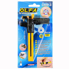 OLFA CMP-3 Rotary Circle Cutter, Cutting fabric circles(from 4cm to 22cm)