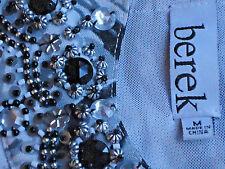 BEREK(Neiman Marcus) FloralNetJewelledTunic SzM rrpUS$75